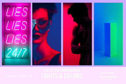 LIGHTS and COLORS PACK I by LittleDr3ams