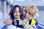 Tidus and Yuna cosplay .:don't leave me:. by Alexcloudsquall