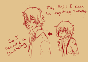 It's funny cause it's true (sketch) by baka-red