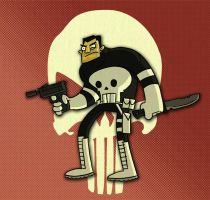 The Punisher by tyrannus