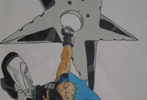 Soul Eater - Black Star by Fire-Natsu