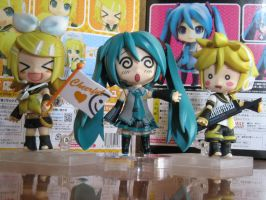 My Vocaloid Toys Collectibles by LadyLorrayne