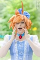 Princess Tutu Cosplay: Ahiru the Duck, Quack! by GoldenMochi