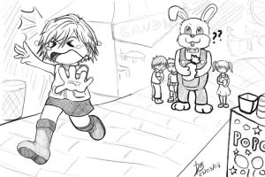 Easter at Silent Hill by SatyHarvenheit