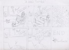 """""""A Hard Tumble"""" by VoltsPower2K"""