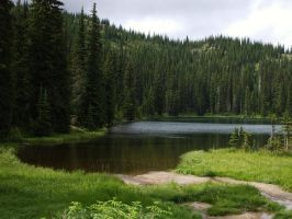 Stagleap Lake by angelicblueeyes