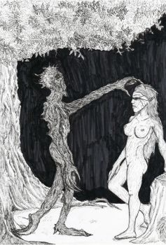 Ent and Nymph by Langkjaer