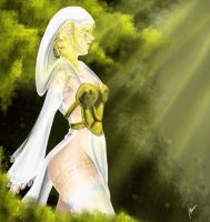 Ana - protector of forest by Gironda