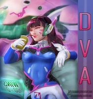 Overwatch Dva by ArtistNtraininG