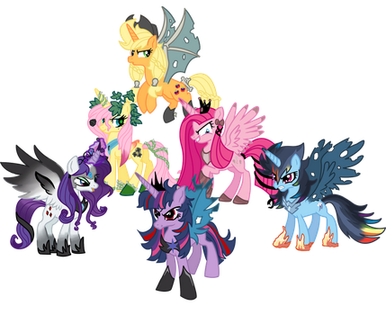 My little enemies darkness is magic by schnuffitrunks
