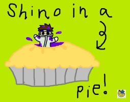 Shino In A Pie by flowerbanana