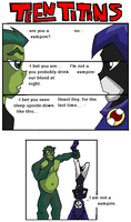 Teen Titans Comic My Way 2 by chamzi