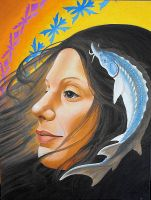 fish clan woman by optimuspint