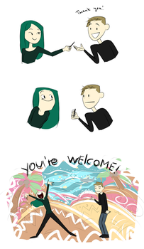 Welcome! by Ihlosih