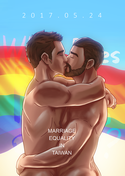 Marriage Equality by wolfcock