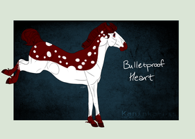 A1419 Bulletproof Heart by Kaninkompis