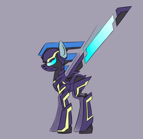 Megamare X - Shadowmare by Underpable