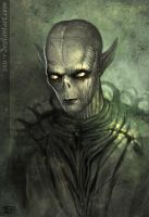 Grey Alien by Daenzar
