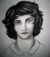 Charcoal Girl 2 by parisi