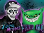 Far Away- Feed Me ft. Kill the Noise by Deadcat-ink