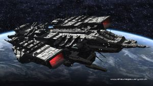The CDF Dreadnaught by madaboutgames