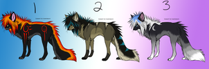 Adoptable Batch 1 [1/3 Open] by Snickers69