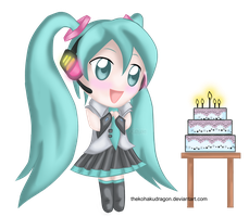 Miku's Birthday by TheKohakuDragon