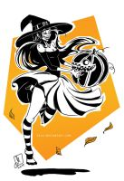 Floria the witch by Meggie-M