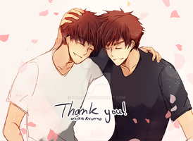 Thank you! by kyunyo