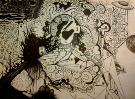 pen and ink works in progress 2 by MissAmber2909