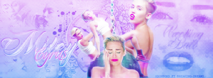 Miley Cyrus~ by xBonbons
