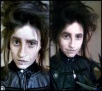 Edward Scissorhands Makeup Attempt by InstilledPhear