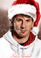 Santa Messi by ramessz