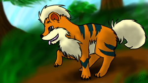 Growlithe by naegamis