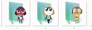 Sgt Frog Folder Icons by Ginokami6