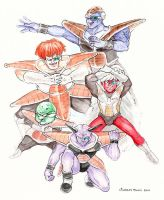 Ginyu Force by kittygurl521
