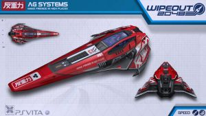 AG Systems Speed - Wipeout2048 - PSVita by nocomplys
