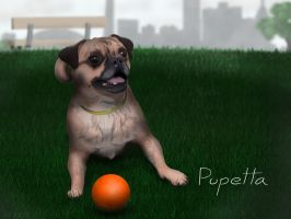 Pupetta the Dog by Facial-Tic