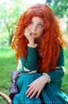 Merida Cosplay : I cant get away from anything ! by Thecrystalshoe
