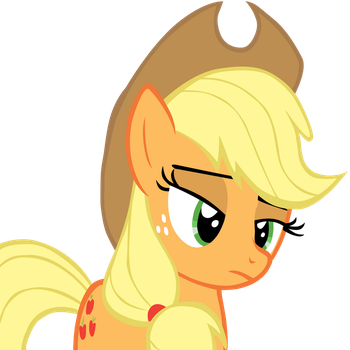 Applejack Jus' Dun Cur by AwesomeCAS