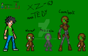 XZ 69 Special Combat Droid or Better Known as Tedy by TKrizer69