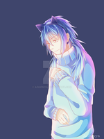 DRAMAtical Murder - Aoba +Sweater by AoHonya