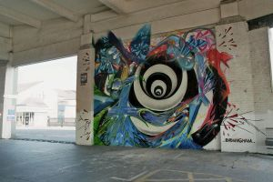 Wold Grafitti Seaside Hol Pt3 by TheCoffeeBaron