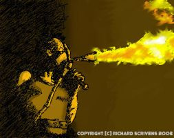 Rammstein Flamethrower by gbbulldog