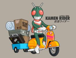 Kamen Rider by mclelun