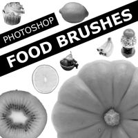 Photoshop Food Brushes :D by hannarb