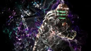 Iscaac Clarke Dead space 2 Background by Felkuro