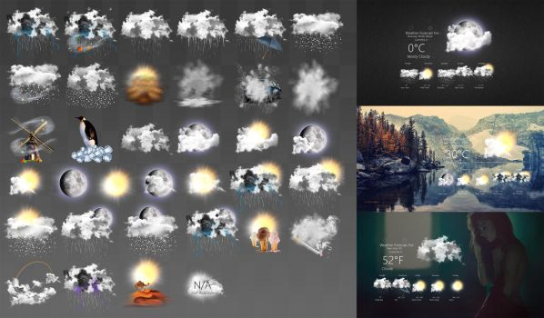 Realistic Weather Forecast 1 by HipHopium