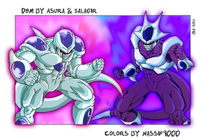 Frieza and Cooler 5th form by Nassif9000
