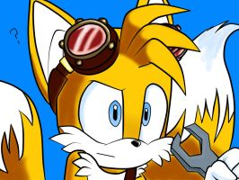Sonic Boom: Confused Tails by xRock-In-Brawl